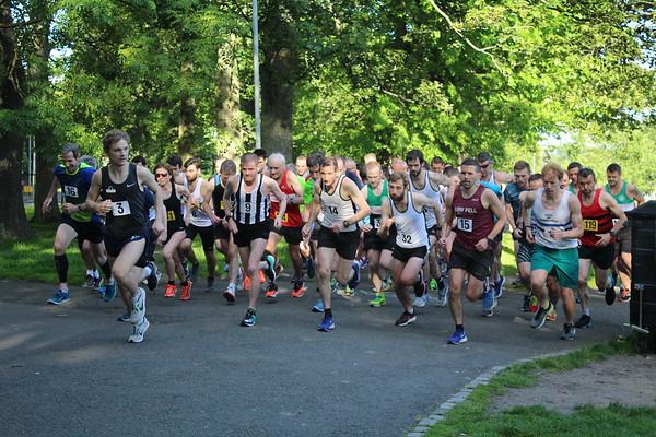 Sri Chinmoy 2 mile race, Wednesday 19 June 2019