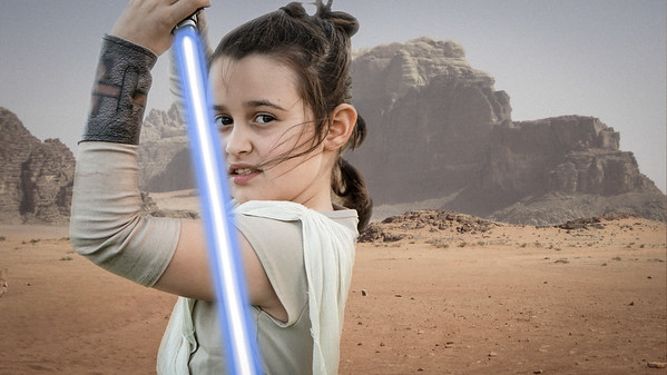 Madelyn as Rey 2018-03-01