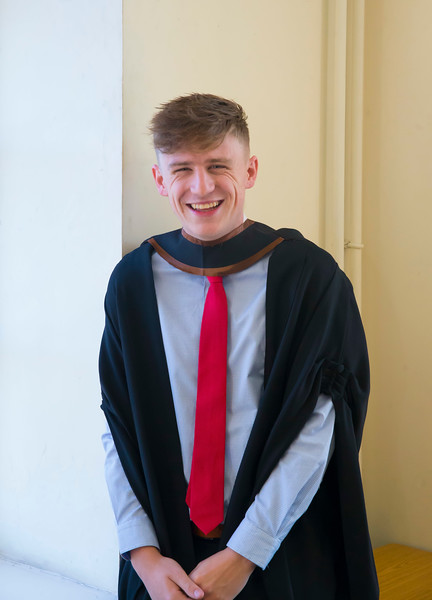 01/11/2018. Waterford Institute of Technology (WIT) Conferring Ceremonies 2018. Pictured is Cian Doyle, Wexford Town. Picture: Patrick Browne