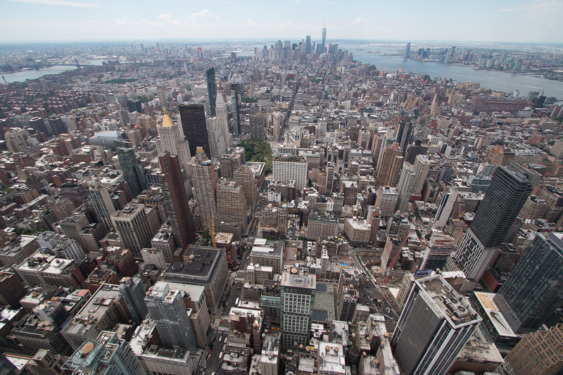 A trip up the Empire State Building, New York City