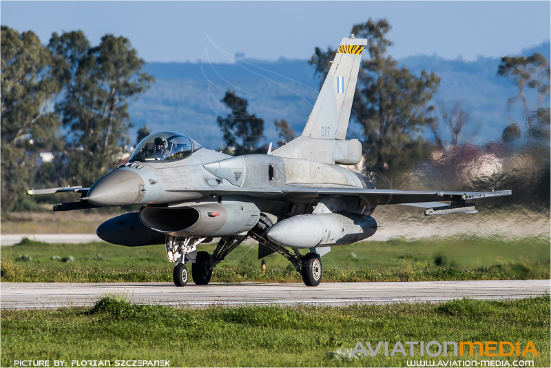 HAF 335 Mira / Lockheed Martin F-16C-52 Fighting Falcon / 017