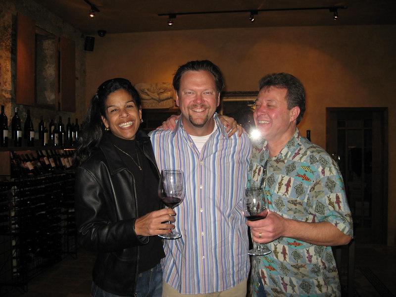 Linda and Bob were the last to surprise me at Del Dotto on Saturday