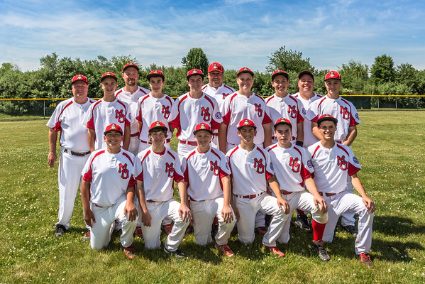 Mt Olive Marauders 14U Travel Baseball Team - June 08, 2014