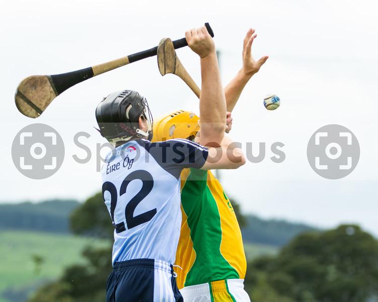 Nenagh Eire Og's Hugn Moloney and Toomevara's David Young