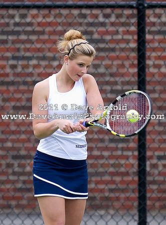 5/10/2011 - Girls Varsity Tennis - Walpole vs Needham