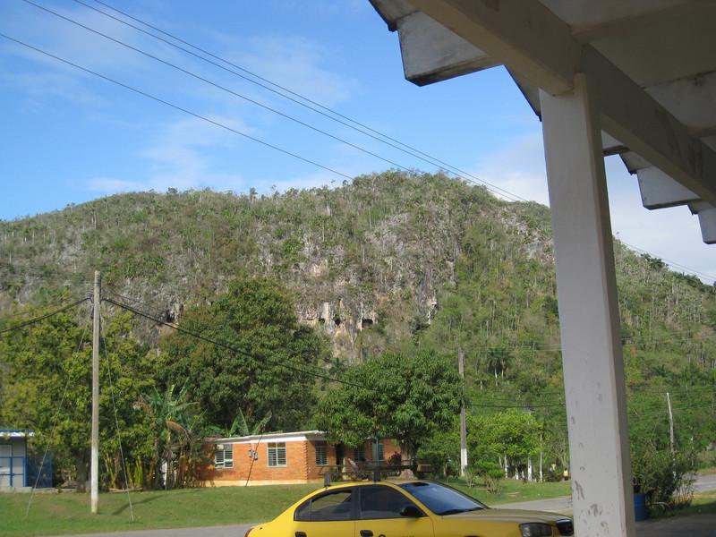 Cuevo Santo Tomas in that hill