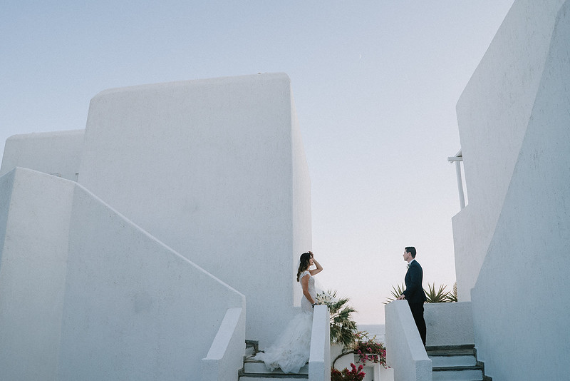 K + B | Greek Orthodox Wedding in Mykonos