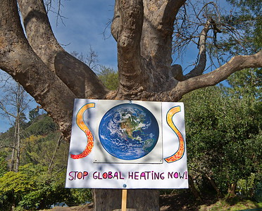 Feb 28 Environmental Protest in San Anselmo  against Big Banks
