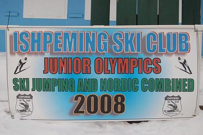 2008 Junior Olympics:  February 26 - March 1, Ishpeming, Michigan