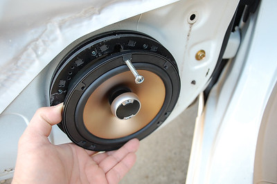 2004 Honda Civic LX Coupe Front Door Speaker Installation - USA
