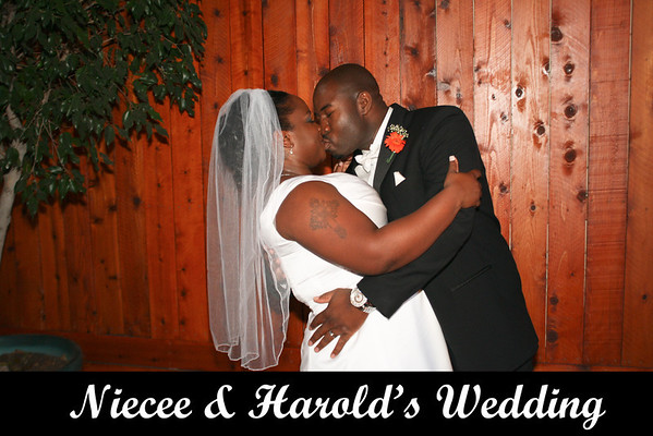 Niecee and Harolds Wedding - Oct 20, 2013
