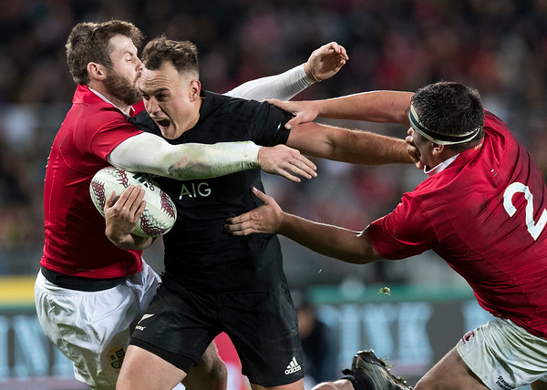 Israel Dagg during game 7 of the British and Irish Lions 2017 Tour of New Zealand, the first Test match between  The All Blacks and British and Irish Lions, Eden Park, Auckland, Saturday 24th June 2017 (Photo by Kevin Booth Steve Haag Sports)  Images for social media must have consent from Steve Haag