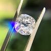 2.03ct Antique Cushion Cut Diamond GIA G SI1 19