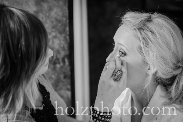 Ashley & Chris B/W Wedding Photos