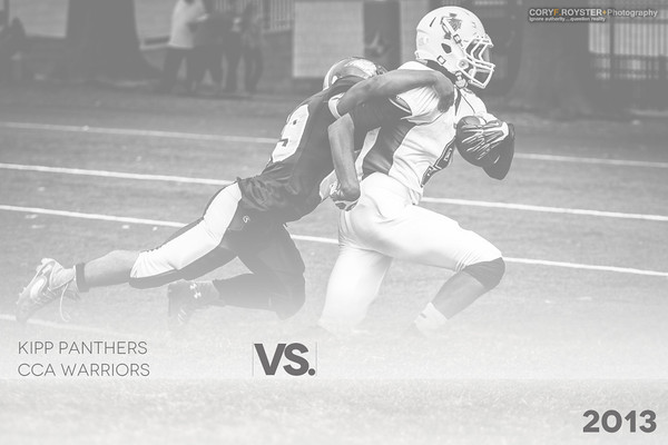 2013 KIPP Panthers vs CCA Warriors