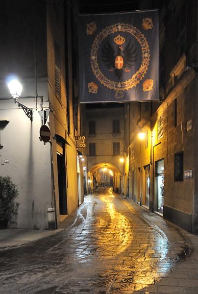 Via Toschi - Reggio Emilia, Italy - February 21, 2011