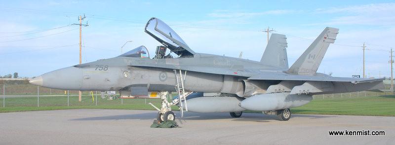CF-18 from Bagotville Quebec