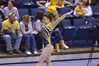 MORGANTOWN, WV - MARCH 8: WVU gymnast Nicolette Swoboda competes on the balance beam during a dual meet March 8, 2015 in Morgantown, WV.