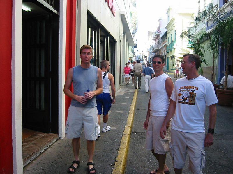 Roaming the streets of San Juan
