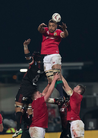 Toby Faletau during game 3 of the British and Irish Lions 2017 Tour of New Zealand,The match between  Crusaders and British and Irish Lions, AMI Stadium, Christchurch, Saturday 10th June 2017 (Photo by Kevin Booth Steve Haag Sports)  Images for social media must have consent from Steve Haag