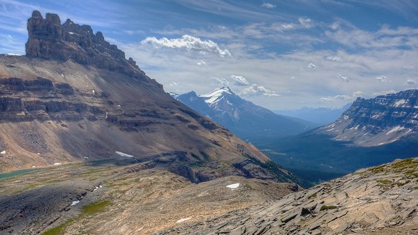 Helen Lake - Trail - Banff Park