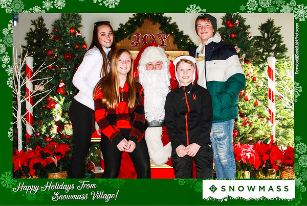 The Town of Snowmass Village Presents- Photos With Santa- Day 4