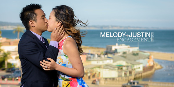 Melody and Justin (Engagement Photography) @ Capitola Beach and Natural Bridges