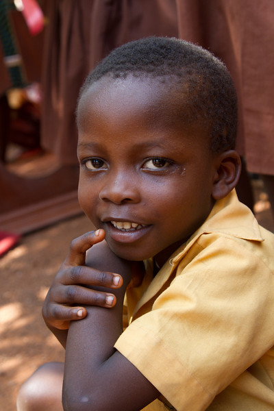 in the running for cutest boy in Ghana