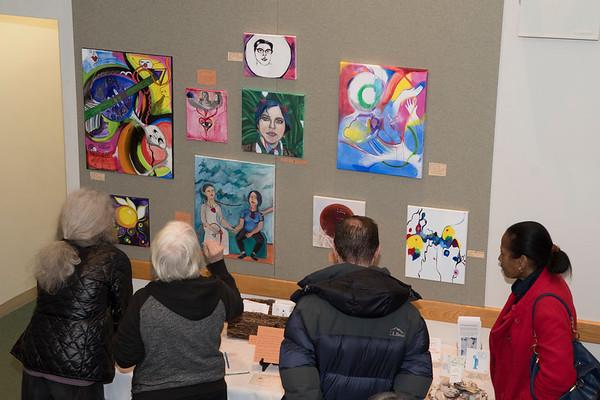 Erin Stevens-North Art Opening @BATV