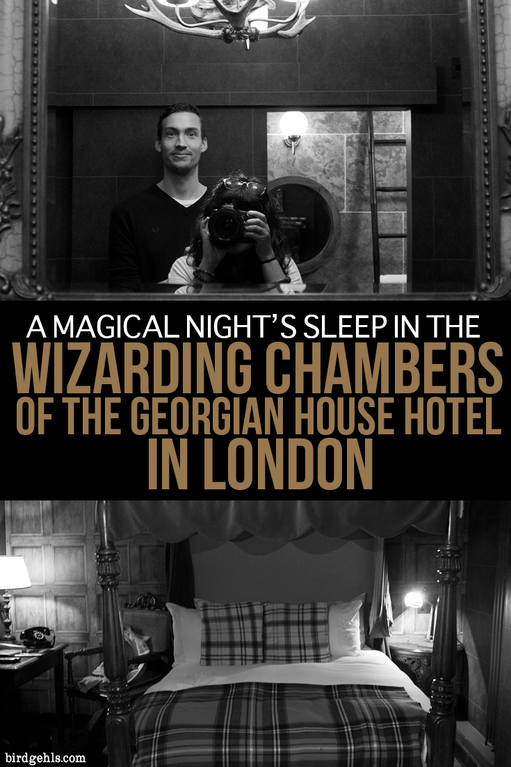This what it's like to stay within the Wizarding Chambers in the Georgian House Hotel in London. Plus, a few other Potter-related activities you can indulge in during your time in the UK's capital.