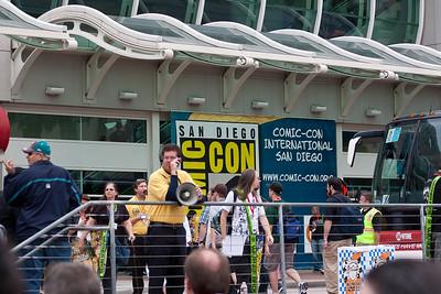 Comic-Con 2010 Venue and Misc