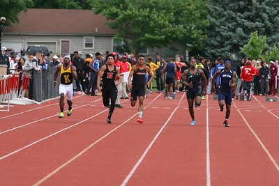 Boys 100M Prelims - 2018 MHSAA LP TF FINALS - DIVISION ONE