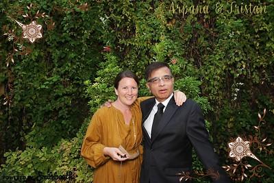 Arpana and  Tristan Wedding