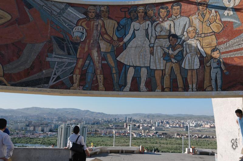 Von dem Denkmal hat man einen schönen Blick über die Stadt.