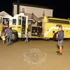 Botsford Bash families at firetruck
