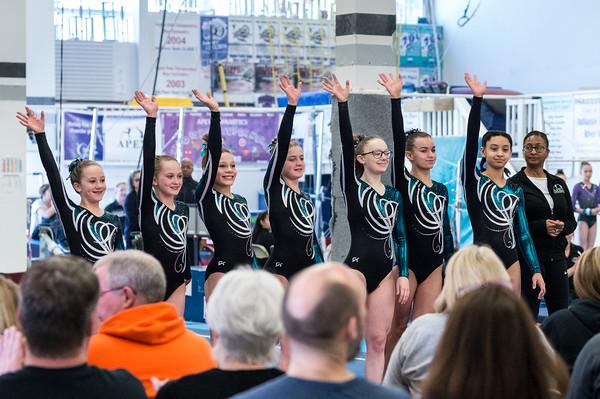 3-8-2020 Apex Lights Camera Action Gymnastics Meet Levels 5-7