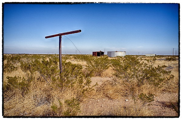 Intersection - Farm Road 1776 & 1450, West Texas