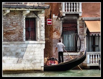 Venezia 2008 - Le gondole