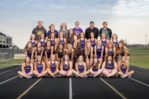 Track and Field Team 2021