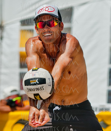 Jose Cuervo Manhattan Beach Open Pro Beach Volleyball, 28 Aug 2011