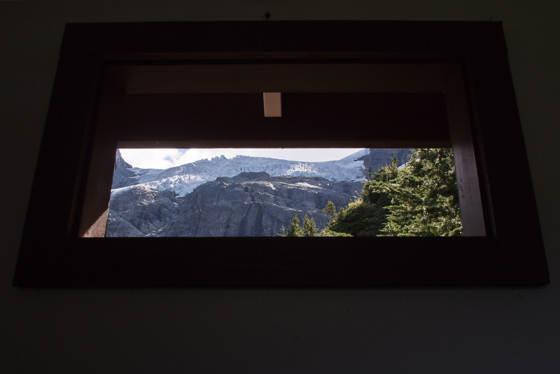 View from the loo - Joffre Lakes trail