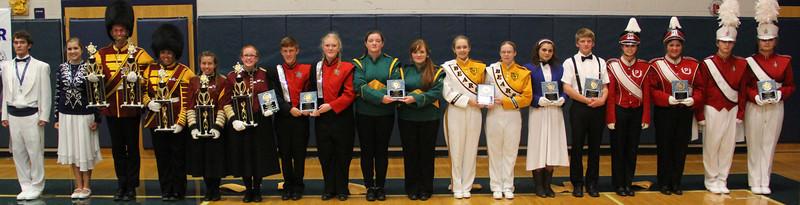 Program, Awards, Land of Running Water Band Adjudication, Tamaqua (9-21-2013)