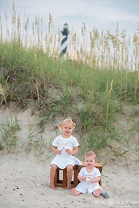 Outer Banks Family Vacation, Cape Hatteras National Seashore, Buxton, North Carolina, Epic Shutter Photography, Sunset, Childrens Portraits, Hatteras Island Photographer, Outer Banks Photographer, Family Photos, Family Portraits, Cape Hatteras Lighthouse,