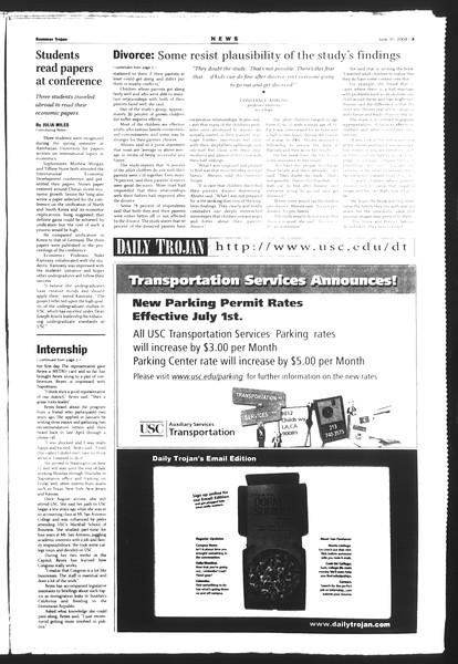 Summer Trojan, Vol. 152, No. 7, June 30, 2004