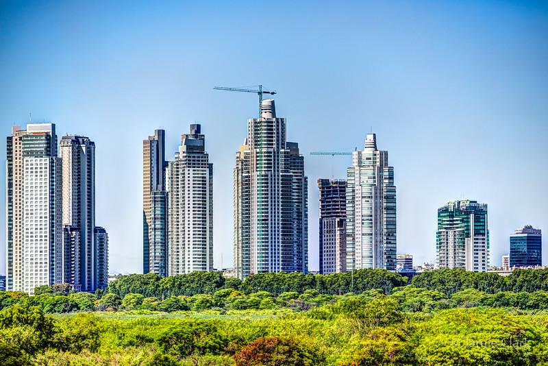 Buenos Aires Modern Skyline