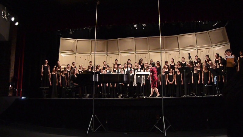Song 1, Shamika's middle school Choir at CMEA competition