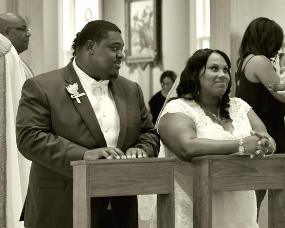 Lakeisha and Lawrence Wedding