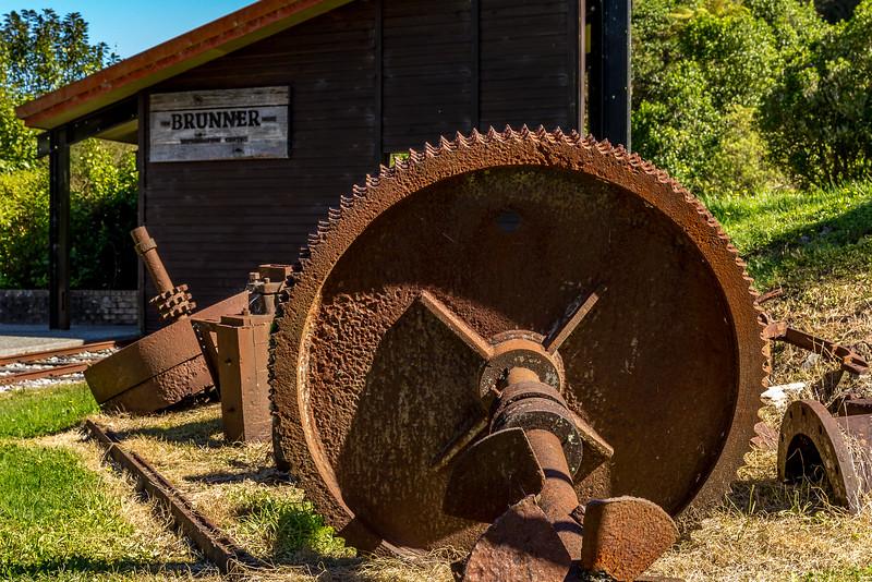 «Brunner Industrial Site» (Kohlebergbau): Überbleibsel