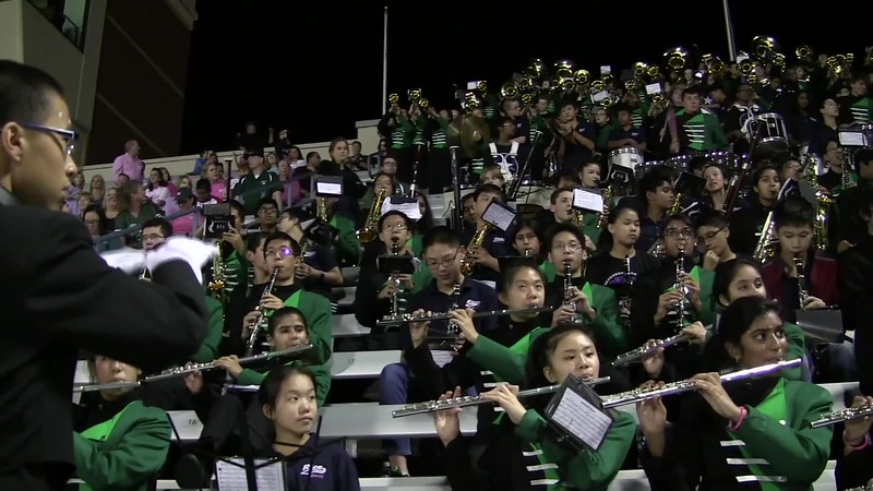 2017.10.12 Jasper vs. McMillan Cluster Middle School Fight Song Long