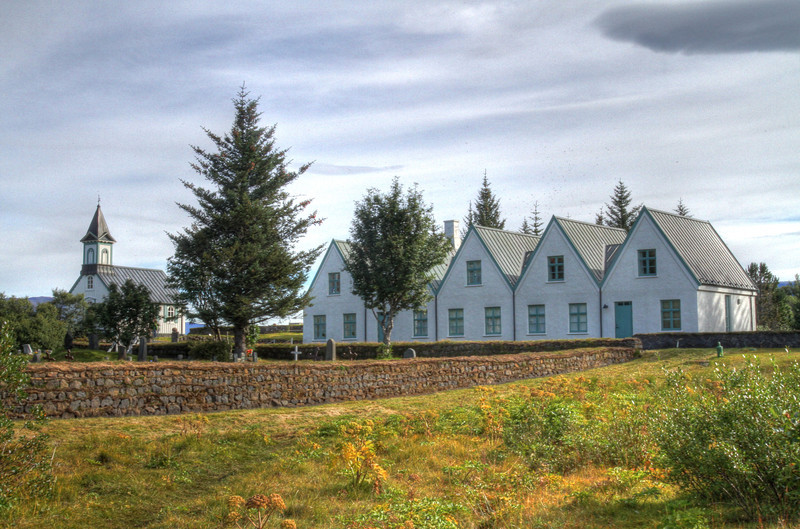 The Icelandic Prime Minister's vacation home.